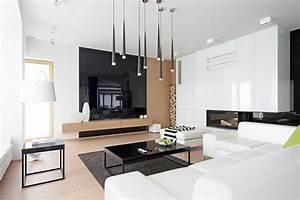 Deco Bois Et Blanc : quelle couleur ajouter une d coration noir et blanc ~ Melissatoandfro.com Idées de Décoration