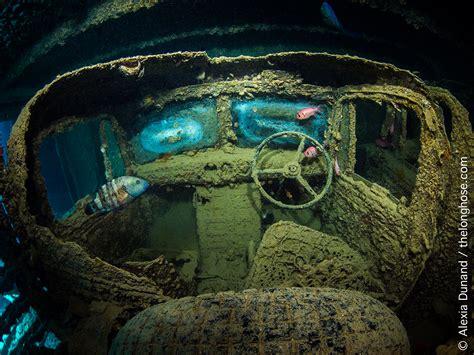 thistlegorm underwater alexia sea ss dunand shipwreck photographer wreck truck ocean featured weekly marine housingcamera sunken el bing abandoned cars