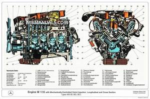 Mercedes Benz M116 M117 Engine Service Repair Manuals