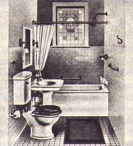 The history of the bathroom part 3 putting plumbing for Who invented the bathroom