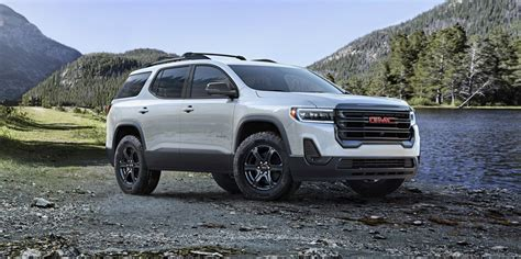 When Will 2020 Gmc Acadia Be Available by 2020 Gmc Acadia Gets A Refresh And 2 0l Four Cylinder