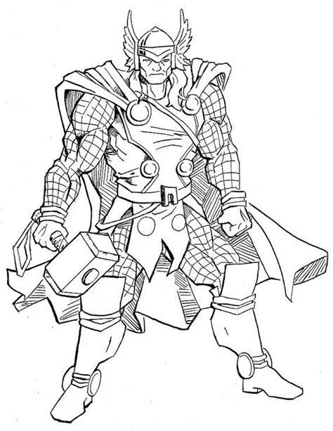 original marvel thor comic art sketch thor