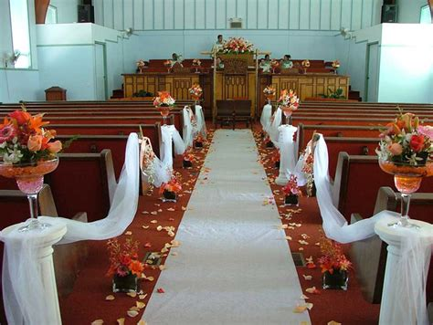 altar wedding decor wedding flowers boutonnieres corsages cranford Church