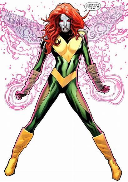 Pixie Hope Powers Summers Marvel Drawing Gwynn