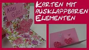 Karte Zur Hochzeit : diy basteln einer pop up karte zur hochzeit zum ~ A.2002-acura-tl-radio.info Haus und Dekorationen