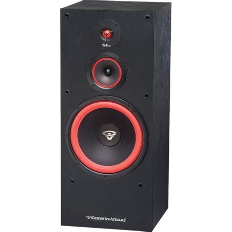 used cerwin floor speakers cerwin sl 12 12 quot 3 way floor tower speaker sl 12 b h