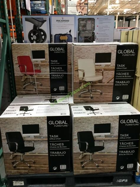 global furniture task chair bonded leather costcochaser