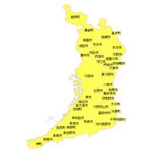 大阪府:地籍調査状況マップ-大阪府 地籍調査Webサイト