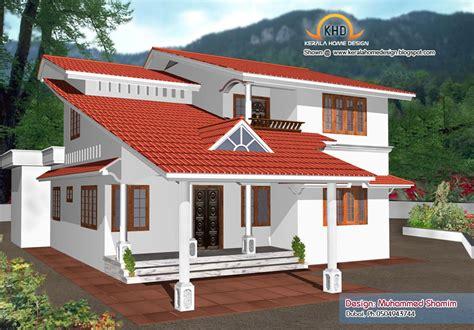 beautiful home elevation designs   kerala home