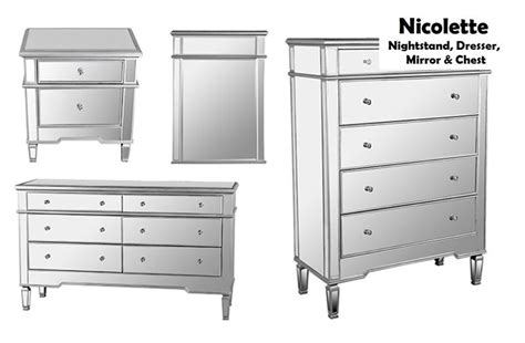 dresser and nightstand set mirrored dresser and nightstand set bestdressers 2017