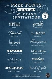 where to print wedding invitations free fonts for diy wedding invitations volume 3