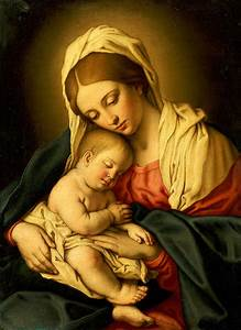 The Madonna And Child Painting by Il Sassoferrato