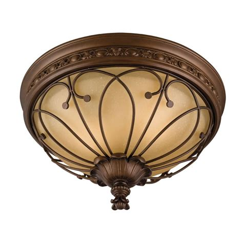 allen roth bronze ceiling flush mount lowe s canada