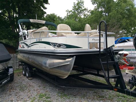 Used Tracker Pontoon Boats by Used Tracker Boats For Sale In New York United States