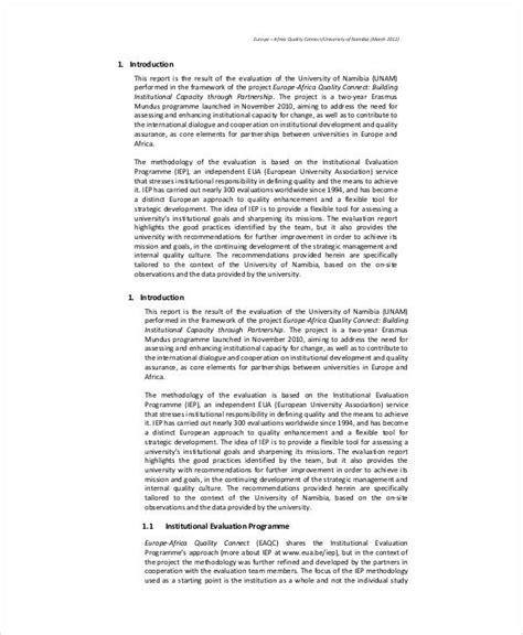quality audit report templates google docs word