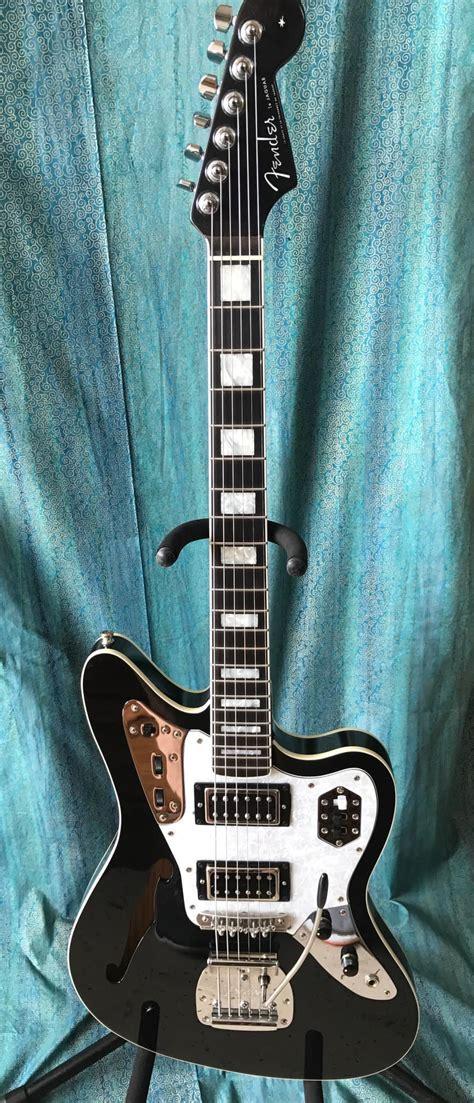 Fender Thinline Jaguar by Fender Jaguar Thinline Custom W Shell Reverb