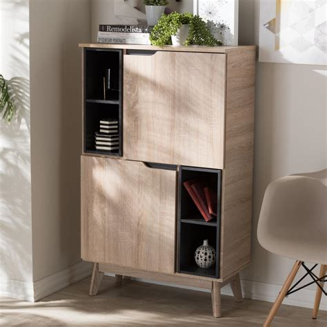 wood storage cabinet international concepts solid parawood storage cabinet in
