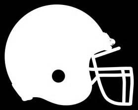 Football Helmet Outline Template