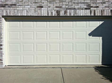 steel garage door thickness steel garage doors cowtown garage door
