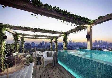 stunning roof terrace design  rooftop pools     rooftop terrace design