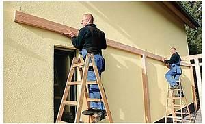 Holzbalken An Wand Befestigen : holzbalken an hauswand montieren diy forum ~ A.2002-acura-tl-radio.info Haus und Dekorationen