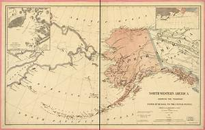 Map Of Russia And Alaska 1867 - LessonPaths