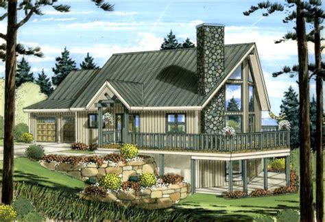 Contemporary Style House Plan 99943 with 1561 Sq Ft 2 Bed