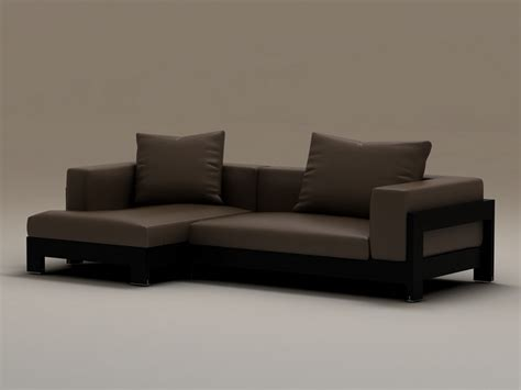 vertices software wood base corner sofa 3d model 3dsmax files free download