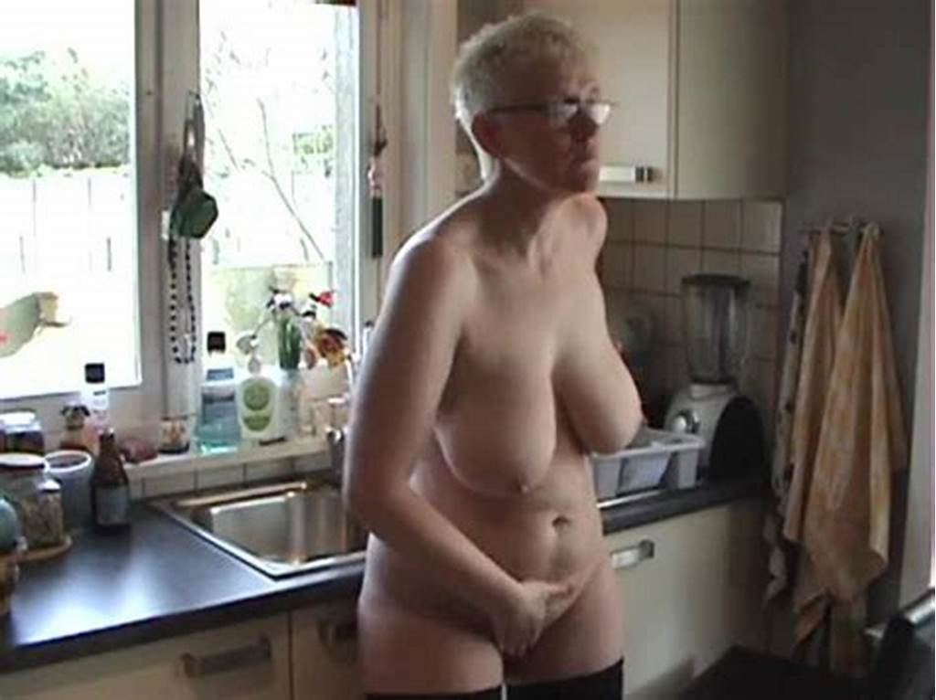 #Big #Ass #Mature #Naked #In #Her #Kitchen