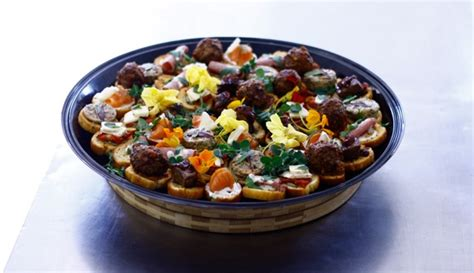 canape platters canape platter 180 degrees catering confectionery