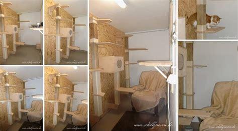 wandkratzbaum selber bauen wandkratzb 228 ume selbst bauen kletterspa 223 f 252 r katzen