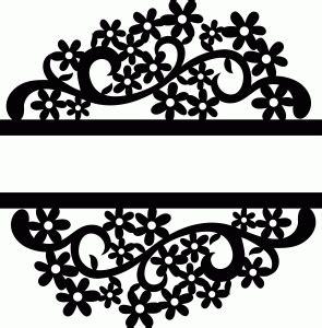 split flower  silhouette design silhouette silhouette