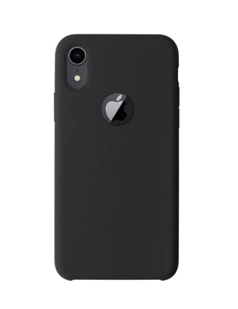 High Grade Silicon Case / Back Cover for iPhone XR (Black