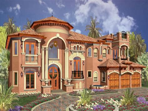 Luxury Mediterranean House Plans Dream Luxury House Plans
