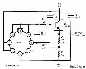45 34v at 1a power supply circuit circuit diagram With photocellchopper powersupplycircuit circuit diagram seekic