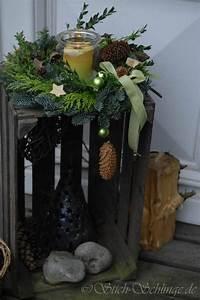 Weihnachtsdeko Aussen Dekoration : deko flur oder vor haust r dekochristmas pinterest weihnachten weihnachtsdekoration und ~ Frokenaadalensverden.com Haus und Dekorationen