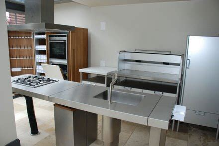 approx 18month bulthaup b2 kitchen stainless steel island worktops and appliances