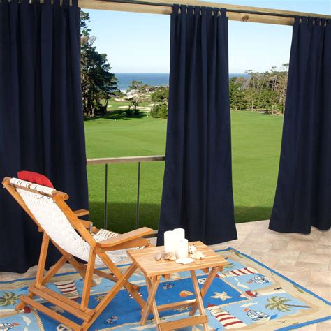 sunbrella outdoor curtains with grommets rooms