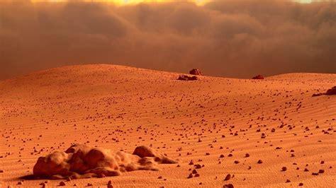Mars Landscape 3D Model OBJ FBX BLEND MTL