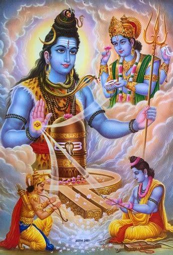 shiva blessing poster inner path