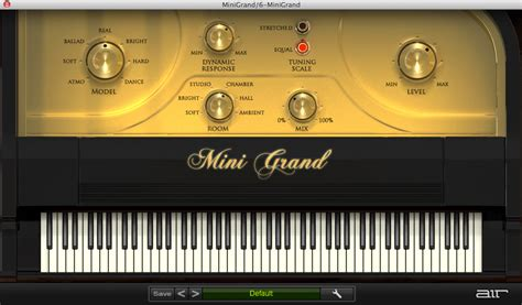 kvr mini grand  air  technology grand piano vst