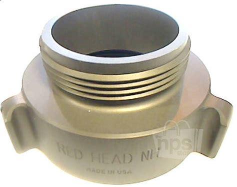 Red Head Brass W-53r 2.5 Nh X 3 Npt Adapter Fire Hose