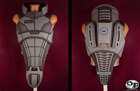 Mass Effect 3 N7 Armor Template by Mass Effect 2 N7 Armor Builds Page 3