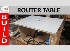Router Table under $20 DIY YouTube