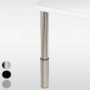 Pied De Table Reglable : pied r glable hauteur 910 1100 mm ~ Edinachiropracticcenter.com Idées de Décoration