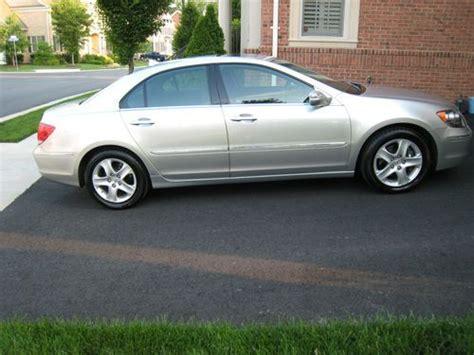 Acura Rl Gas Mileage by Sell Used 2005 Acura Rl Base Sedan 4 Door 3 5l In Ashburn