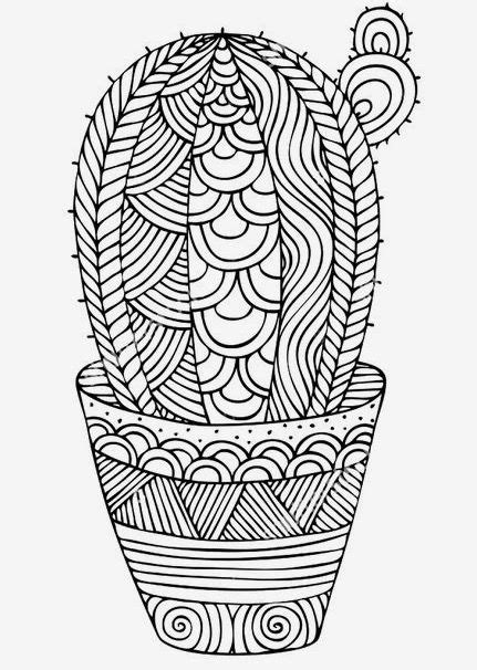 Cacti coloring page | New coloring book page visit us at