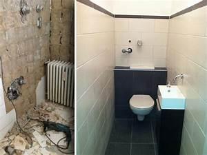 Bad Renovieren Vorher Nachher : badezimmer renovieren vorher nachher cool badezimmer renovieren projekte und vorher nachher ~ Sanjose-hotels-ca.com Haus und Dekorationen