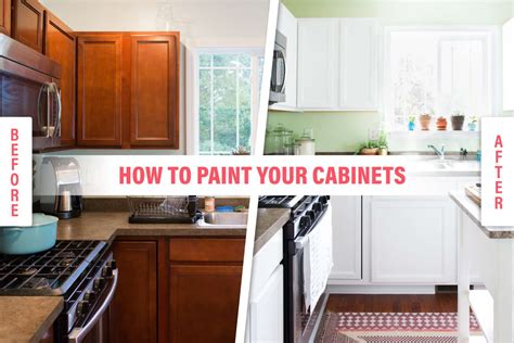How To Paint Wood Kitchen Cabinets With White Paint