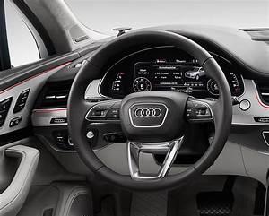 Audi Q7 Interieur : l 39 audi q7 2015 quitte ses formes arrondies ~ Nature-et-papiers.com Idées de Décoration